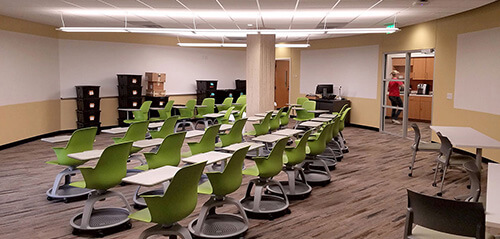 Renovations for Criminal Justice Institute, Auditorium + Center for Teaching and Learning Innovation